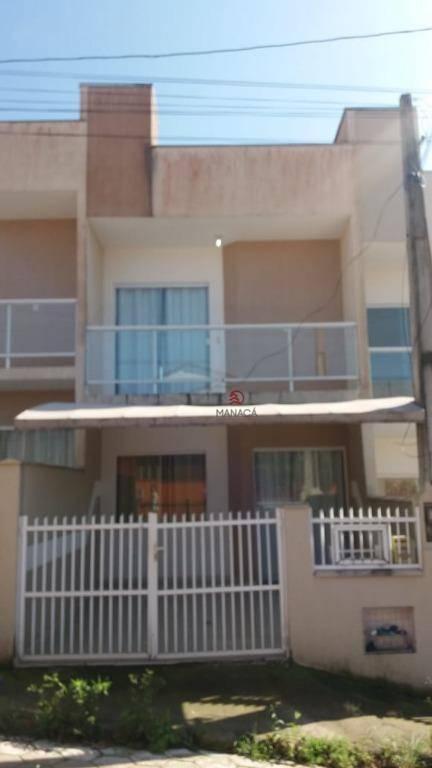 Sobrado com 2 dormitórios para alugar, 80 m² por R$ 1.200,00/mês - Centro - Barra Velha/SC