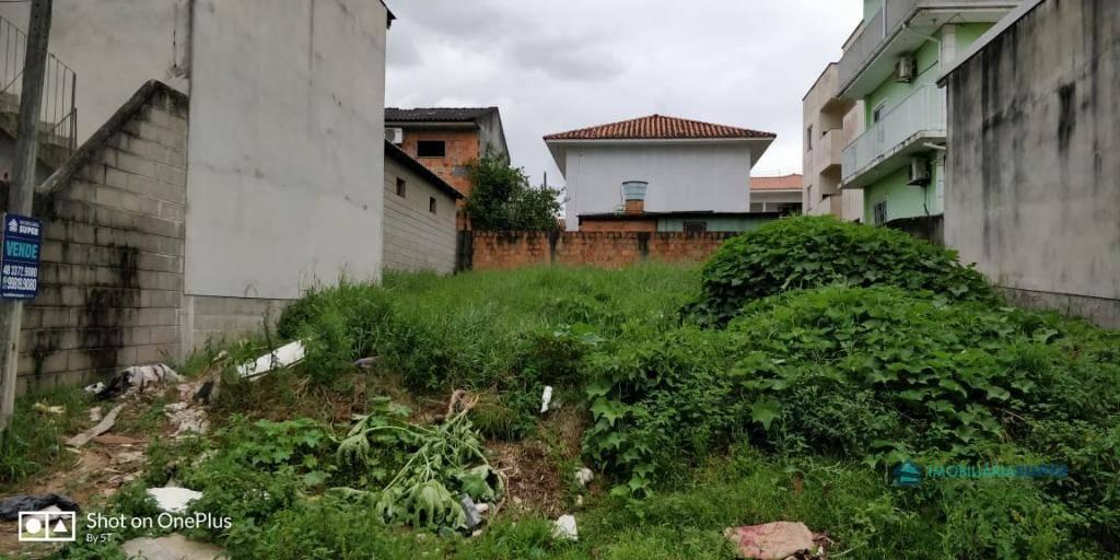 Terreno à venda, 258 m² por R$ 175.000,00 - Potecas - São José/SC