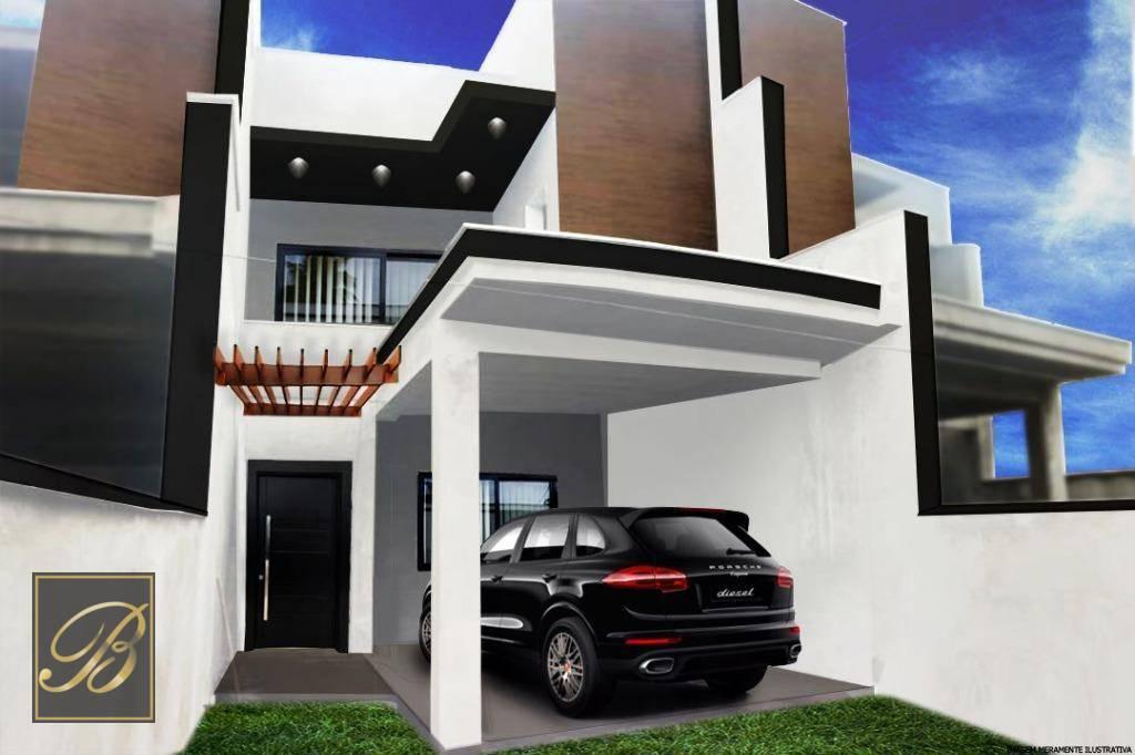 Sobrado com 3 dormitórios à venda, 120 m² por R$ 350.000 - Nova Brasília - Joinville/SC