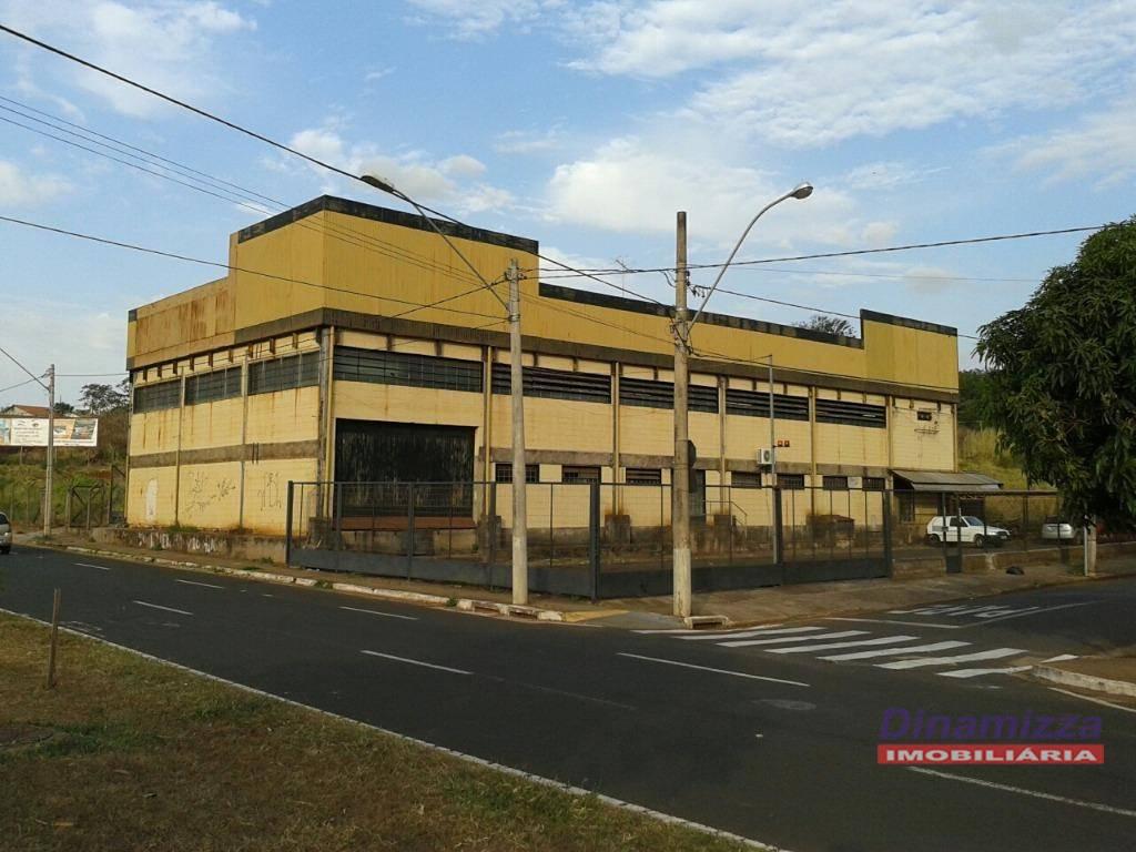 Galpão comercial para venda e locação, Parque do Mirante, Uberaba - GA0104.