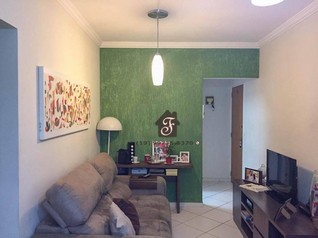 Apartamento com 3 dormitórios à venda, 65 m² por R$ 259.990 - Jardim Pacaembu - Valinhos/SP