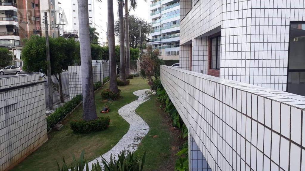 Apartamento com 3 dormitórios à venda, 128 m² por R$ 545.000 - Aldeota - Fortaleza/CE