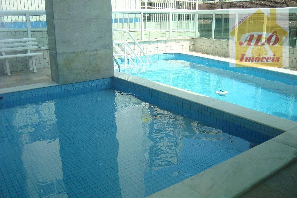Apartamento à venda, 58 m² por R$ 285.000,00 - Aviação - Praia Grande/SP