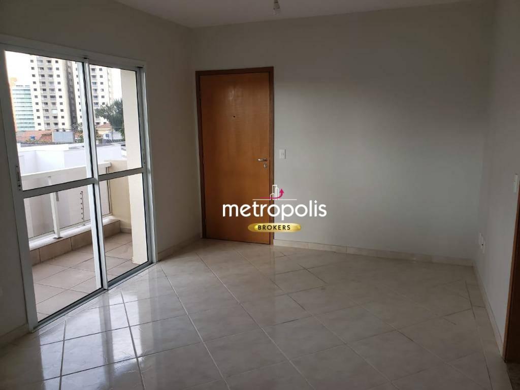 Apartamento para alugar, 96 m² por R$ 1.830,00/mês - Campestre - Santo André/SP