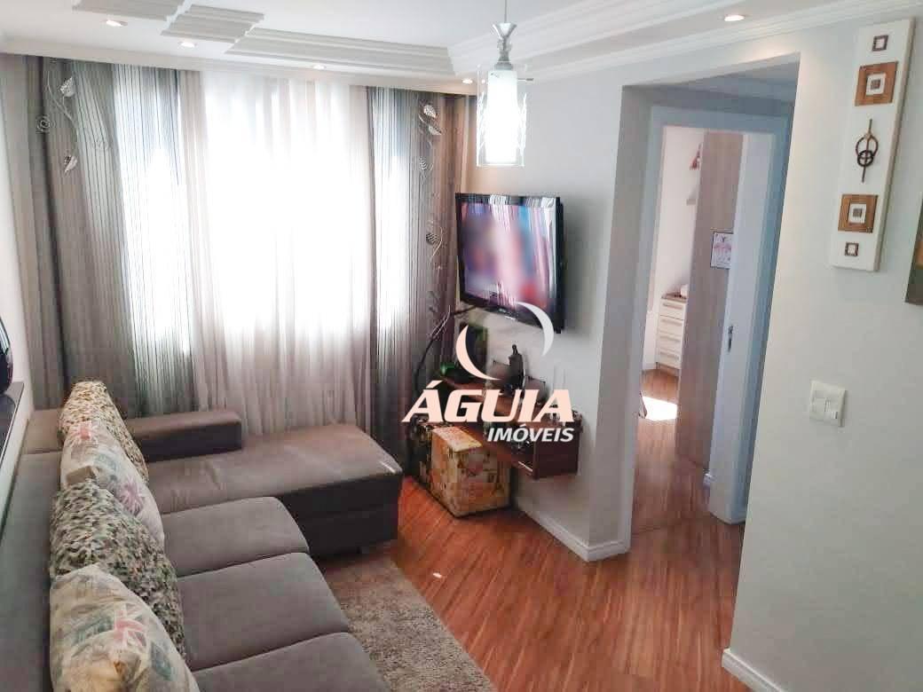 Apartamento com 2 dormitórios à venda, 45 m² por R$ 225.000 - Parque São Vicente - Mauá/SP