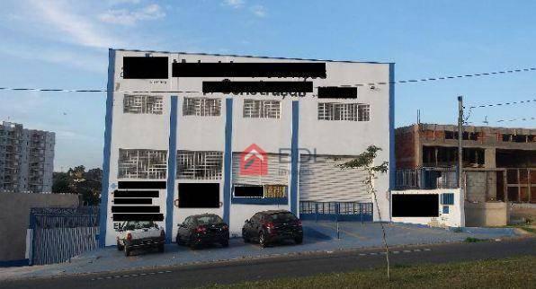 Barracão comercial para locação, Vila Perseu Leite de Barros