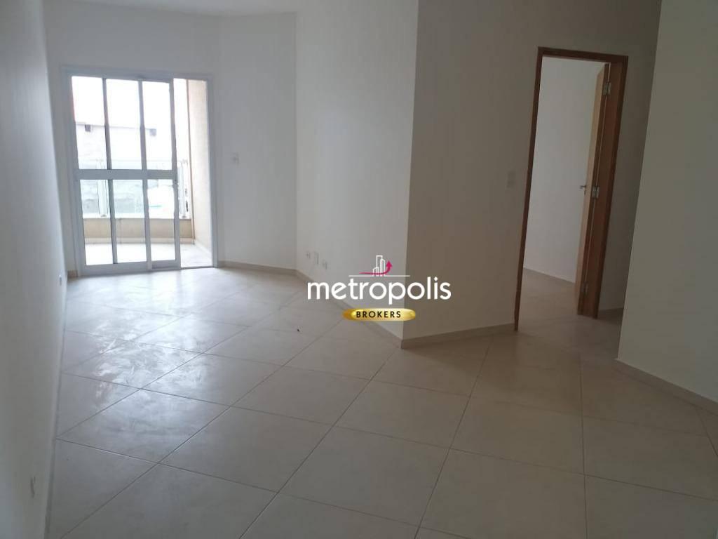 Apartamento com 1 dormitório para alugar, 50 m² por R$ 1.200/mês - Nova Gerti - São Caetano do Sul/SP
