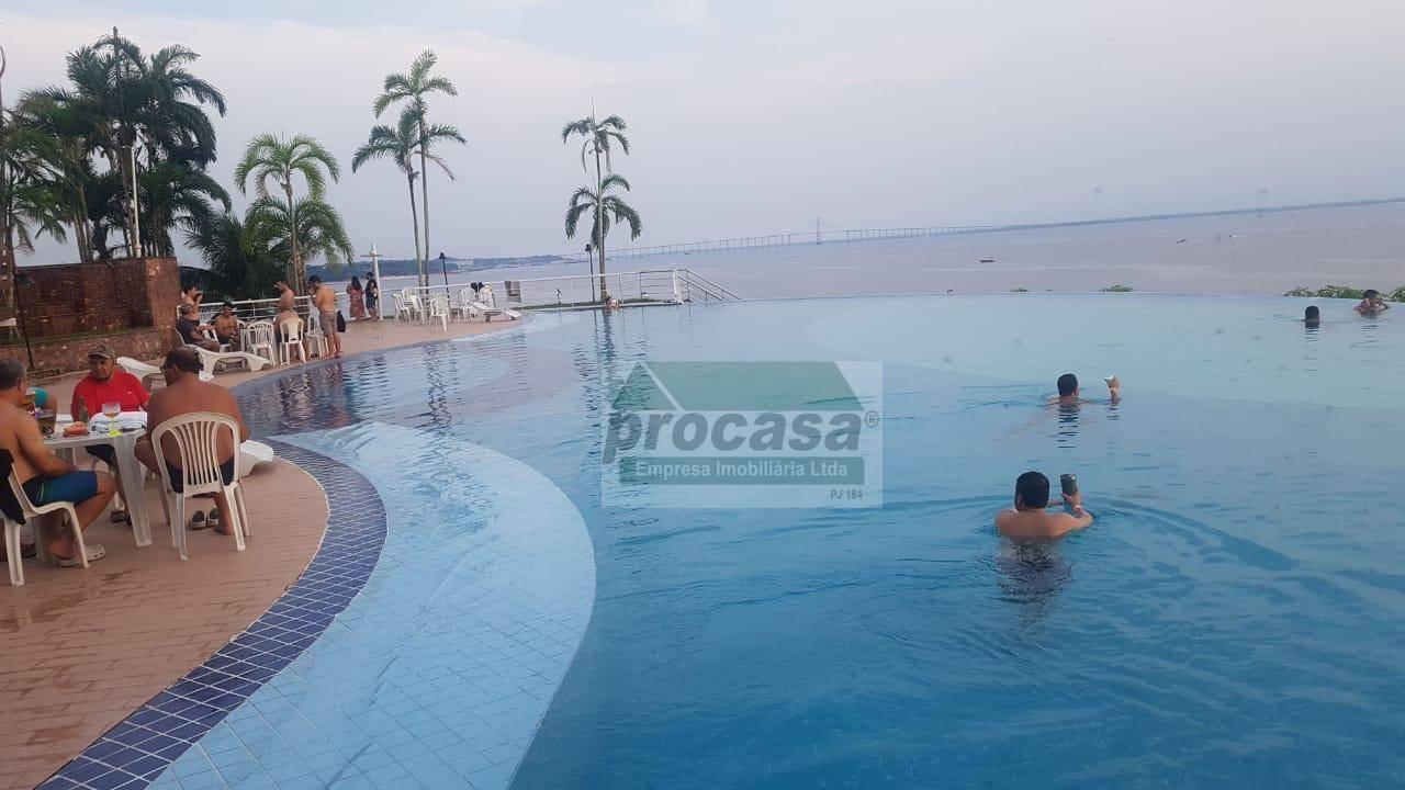 Flat mobiliado com 1 dormitório para alugar, 60 m² por R$ 3.500/mês - Ponta Negra - Manaus/AM