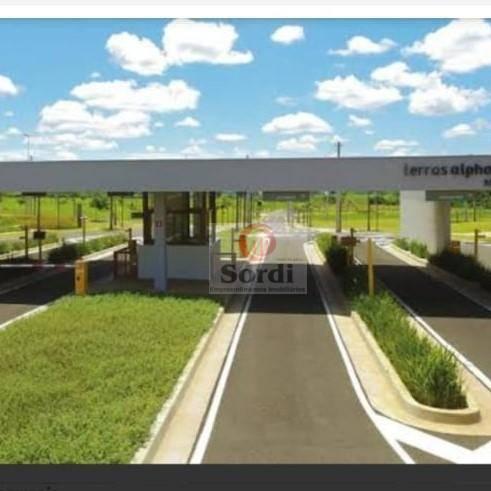Terreno à venda, 565 m² por R$ 375.000,00 - Alphaville - Ribeirão Preto/SP