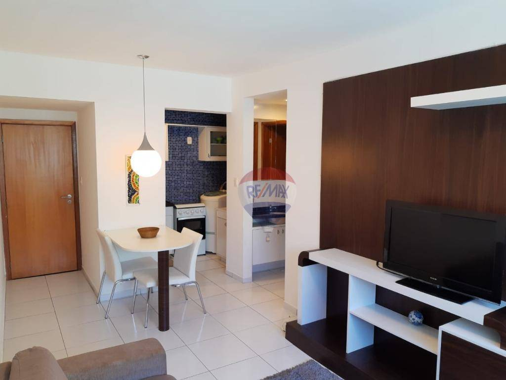Flat com 1 dormitório para alugar, 35 m² por R$ 2.100,00/mês - Boa Viagem - Recife/PE