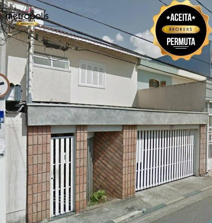 Sobrado à venda, 262 m² por R$ 750.000,00 - Paulicéia - São Bernardo do Campo/SP