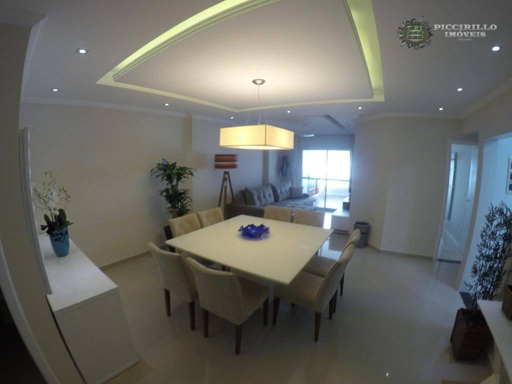 Apartamento à venda, 154 m² por R$ 1.100.000,00 - Vila Guilhermina - Praia Grande/SP