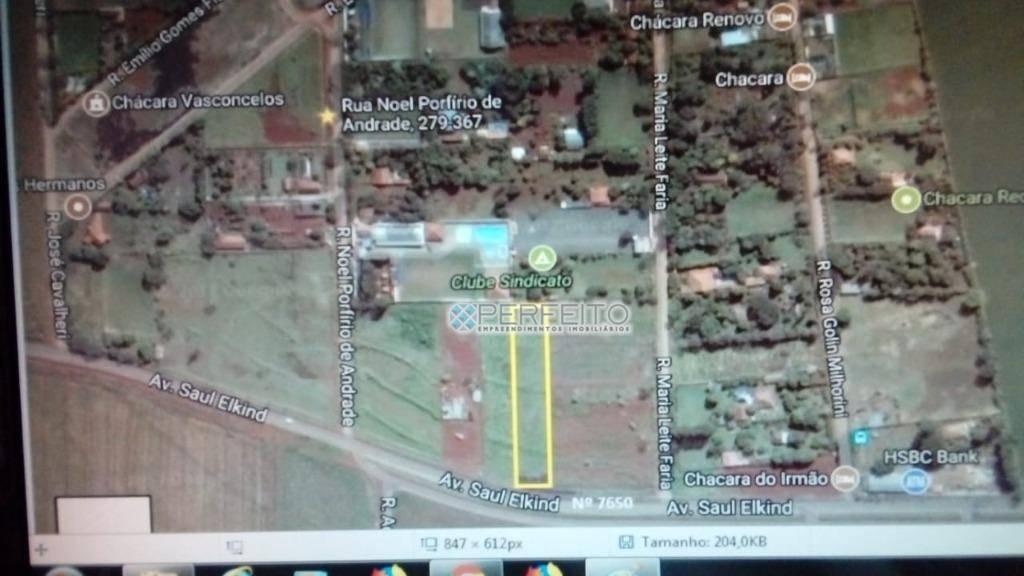 Área à venda, 5205 m² por R$ 2.000.000,00 - Conjunto Semiramis Barros Braga - Londrina/PR