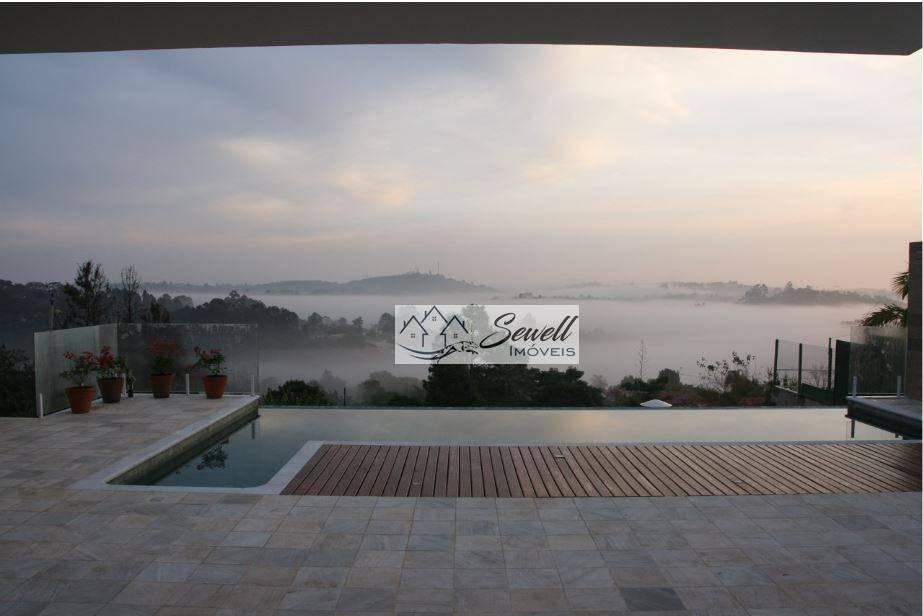 Casa dos Sonhos com  4 suíte,10 vagas de garagem,500 m² - Condomínio Porta do Sol - Mairinque/SP