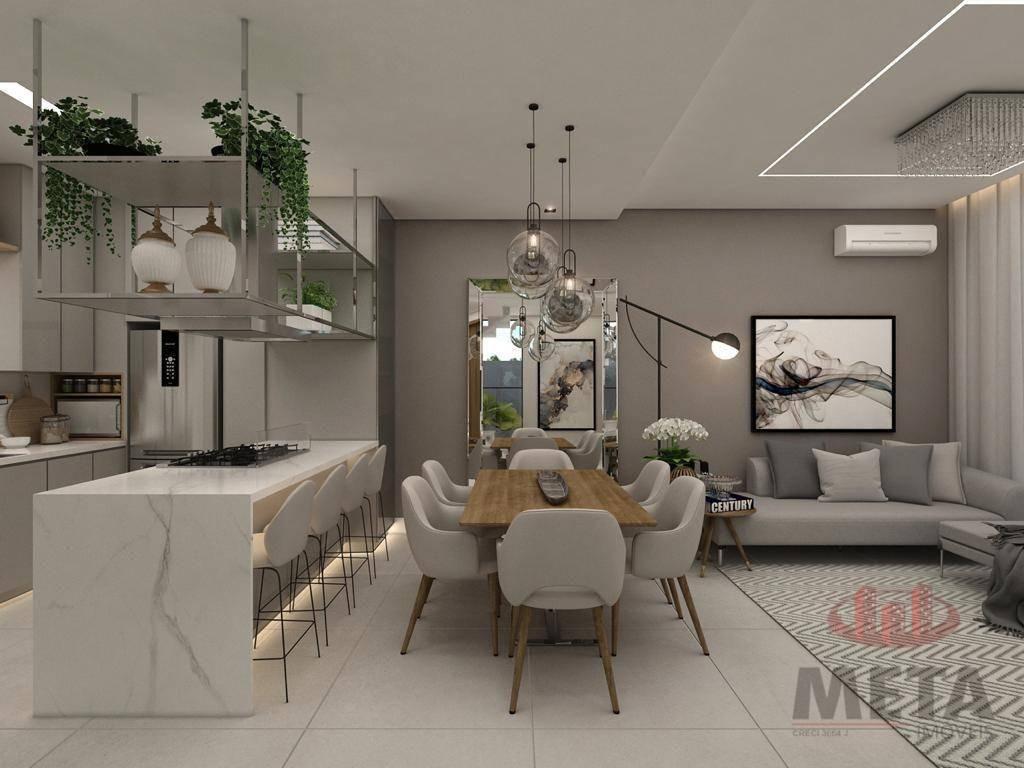 Casa em condomínio com 3 Dormitórios à venda, 132 m² por R$ 739.000,00
