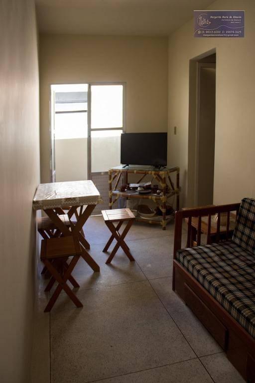 Venda apartamento, a 2 quadras da praia, Vila Tupi.