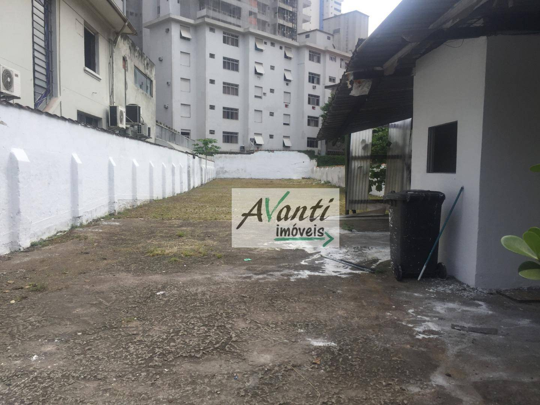 Terreno, 550 m² - venda por R$ 3.650.000,00 ou aluguel por R$ 15.000,00/mês - Gonzaga - Santos/SP
