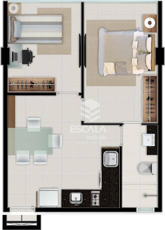Apartamento à Venda - Meireles