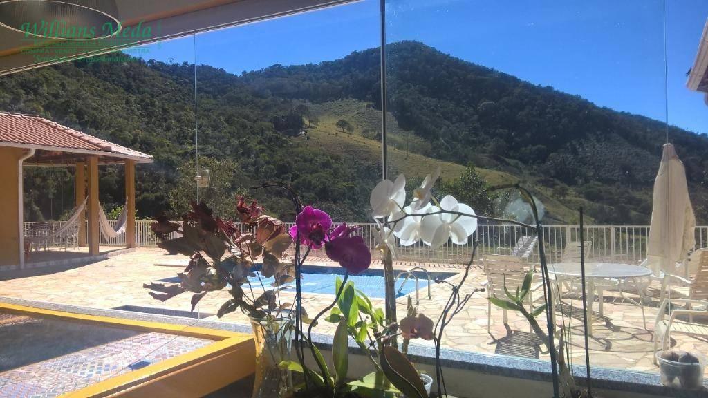 Chácara com 6 dormitórios à venda, 30000 m² por R$ 1.350.000 - Zona Rural - Soledade de Minas/MG