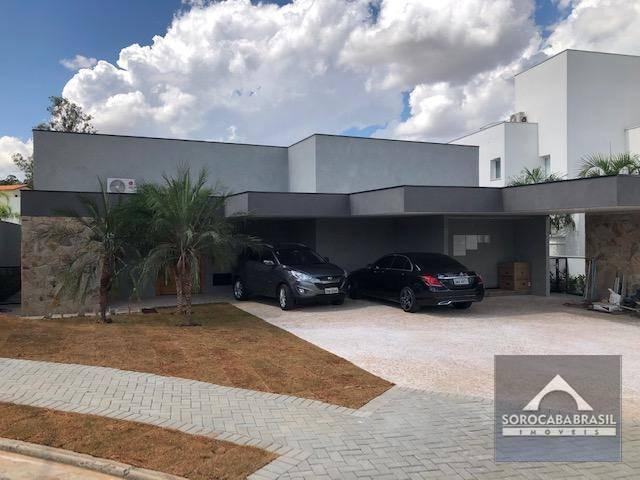 Casa com 3 dormitórios à venda, 330 m² por R$ 2.000.000 - Alphaville Nova Esplanada - Votorantim/SP, próximo ao Shopping Iguatemi.