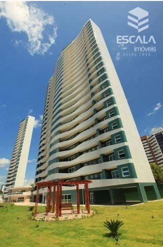 Apartamento com 3 quartos à venda, 164 m², 3 suítes, 3 vagas, área de lazer - Guararapes - Fortaleza/CE