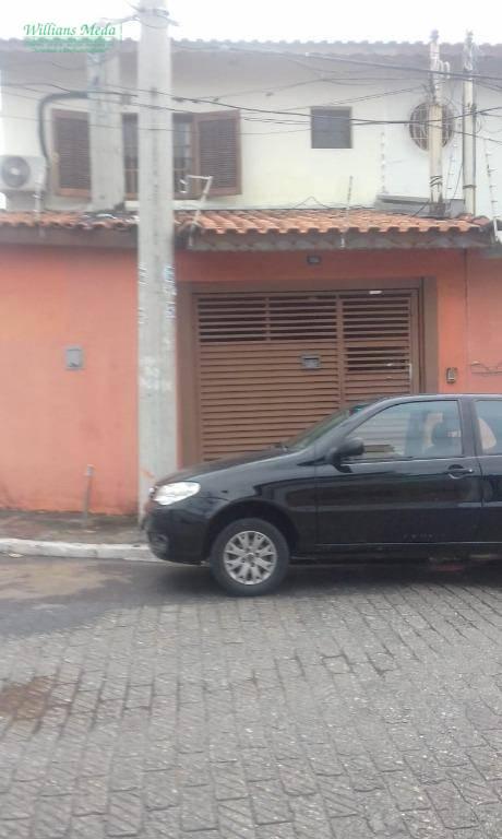 Sobrado com 3 dormitórios à venda, 100 m² por R$ 420.000 - Vila Galvão - Guarulhos/SP