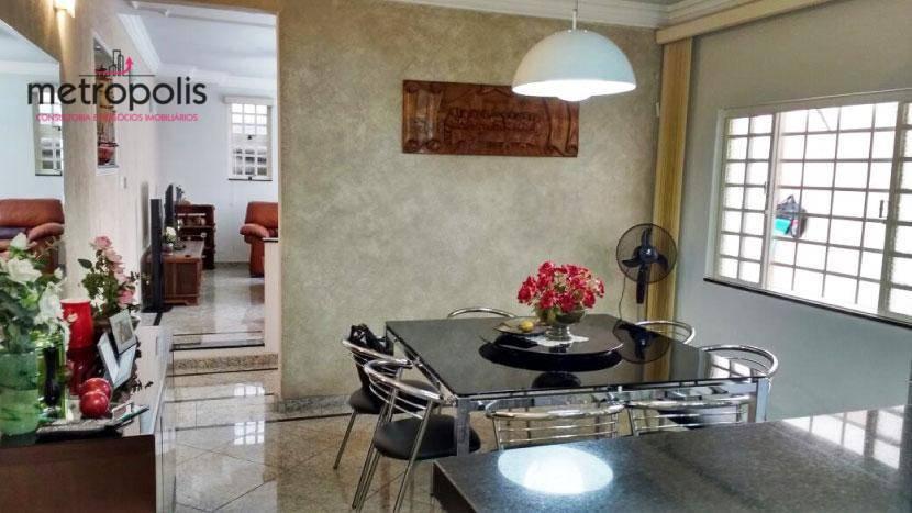 Casa residencial à venda, Olímpico, São Caetano do Sul - CA0122.