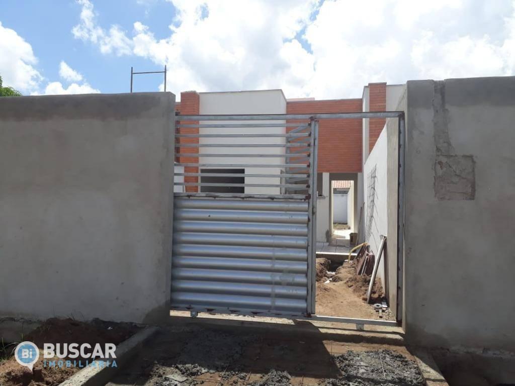 Casa com 2 dormitórios à venda, 75 m² por R$ 154.900 - Santo Antônio dos Prazeres - Feira de Santana/BA