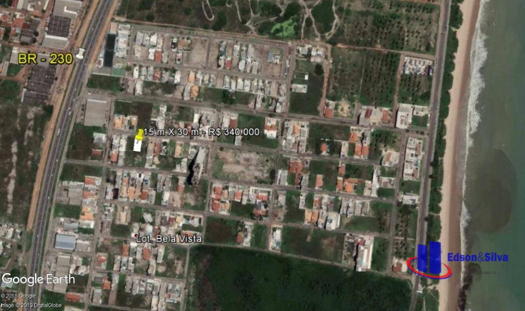 Terreno à venda, 450 m² por R$ 340.000 - Intermares - Cabedelo/PB