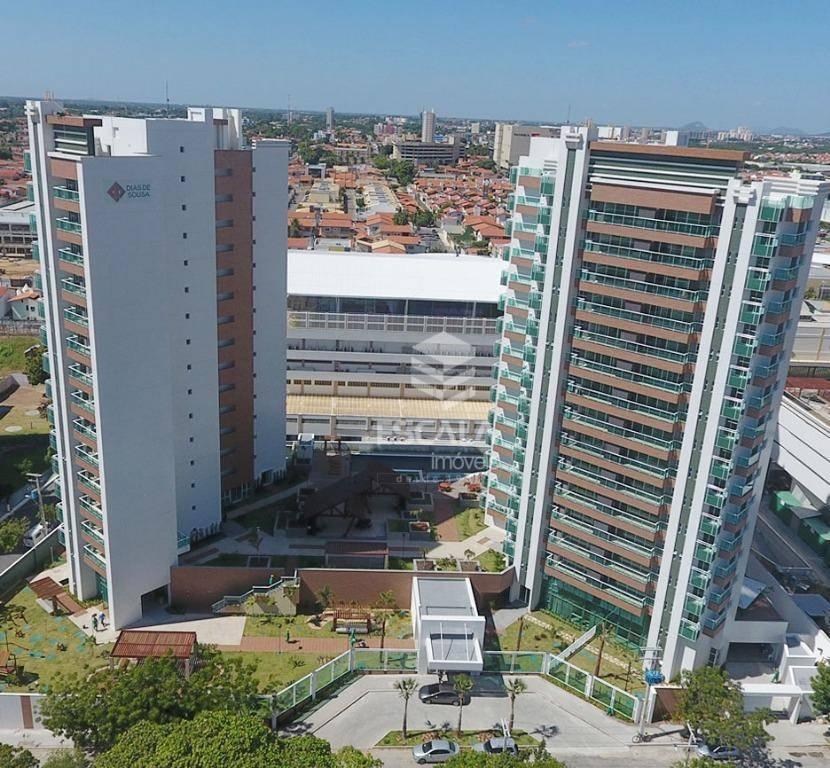 Apartamento com 3 quartos à venda, 91 m², novo, área de lazer, 2 vagas, financia - Edson Queiroz - Fortaleza/CE