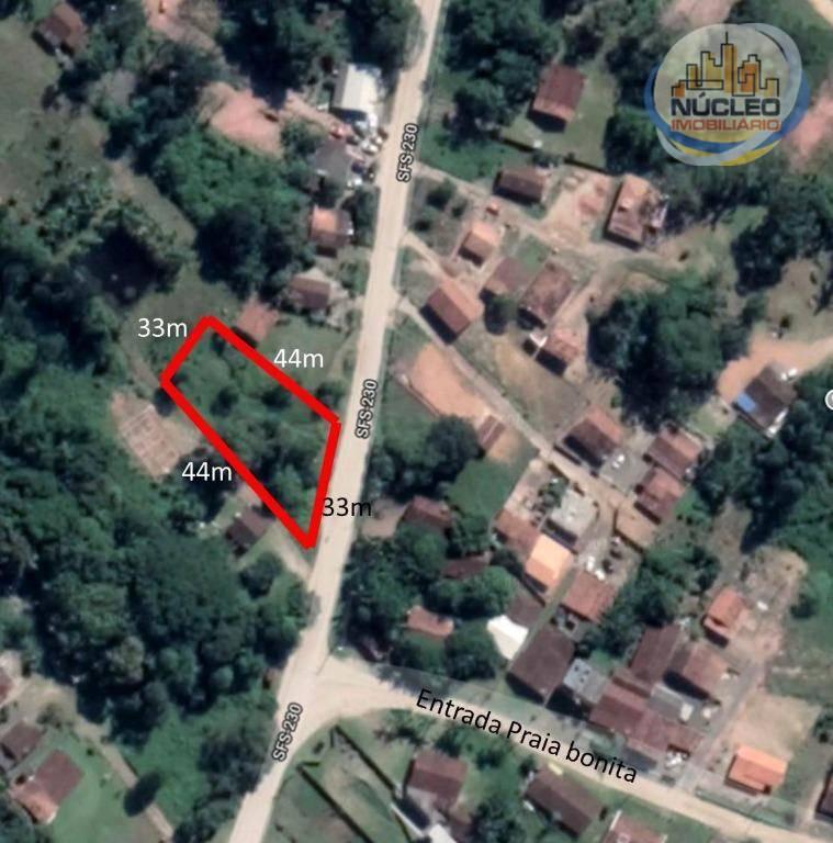 Terreno/Lote à venda, 1.452 m² por R$ 185.000,00