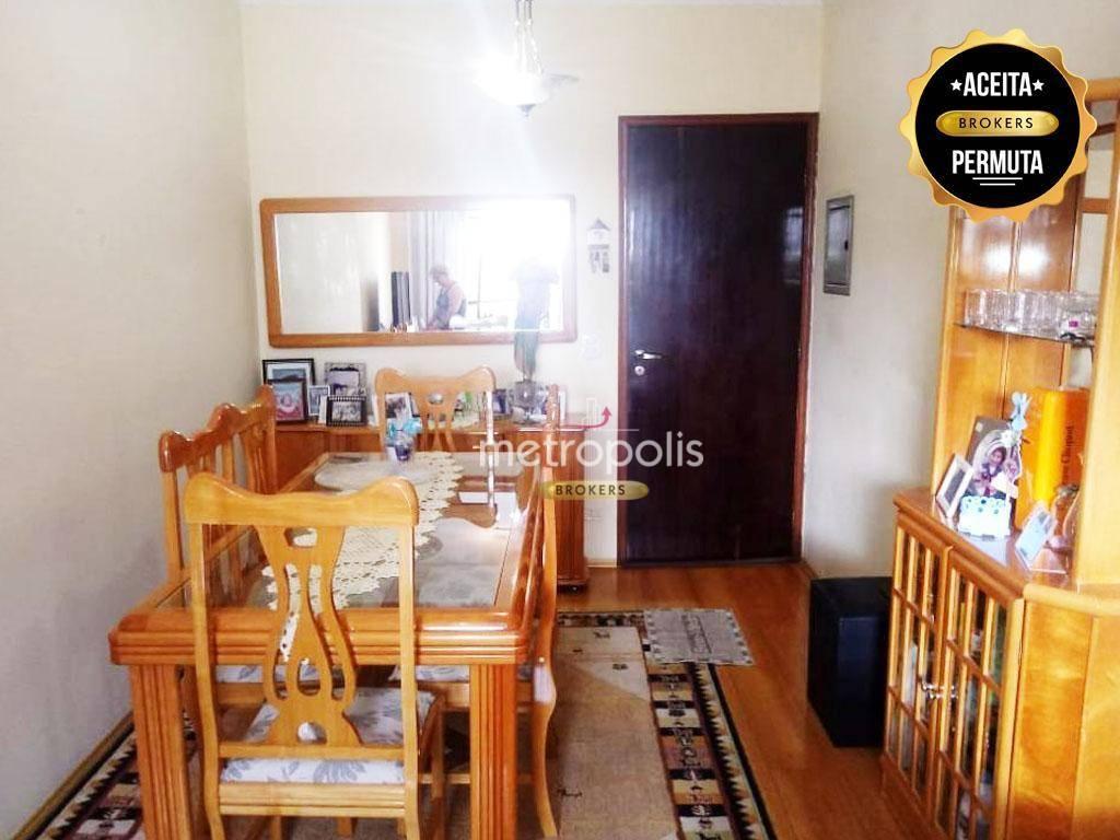 Apartamento à venda, 75 m² por R$ 480.000,00 - Nova Gerti - São Caetano do Sul/SP