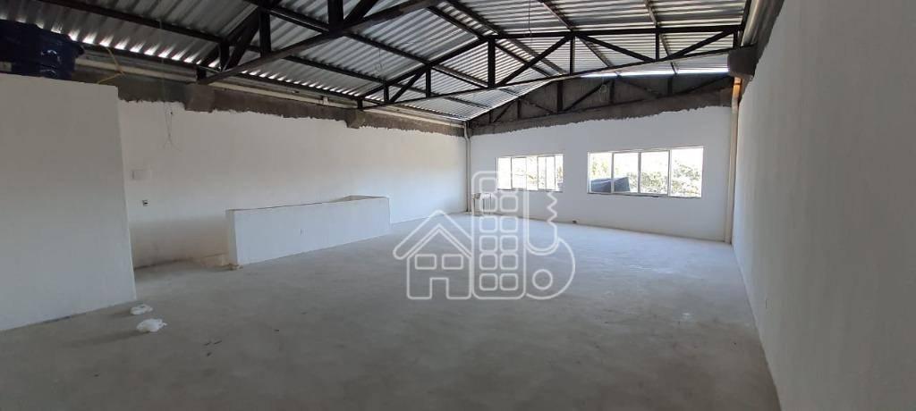 Sala para alugar, 100 m² por R$ 2.000,00/mês - Raul Veiga - São Gonçalo/RJ