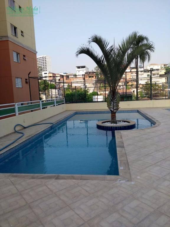 Apartamento com 3 dormitórios à venda, 68 m² por R$ 330.000,00 - Vila Rio de Janeiro - Guarulhos/SP
