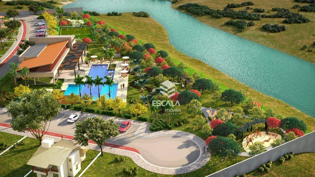 Lote à venda, 271 m² , Villa Reale, condomínio fechado, financia - Jucurutu - Aquiraz/CE