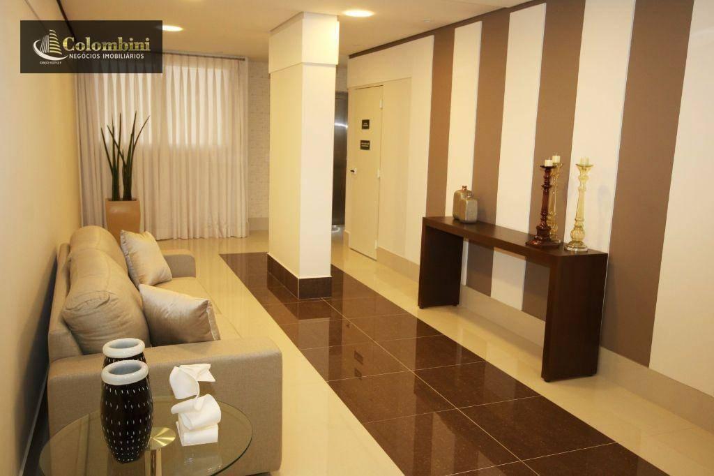 Apartamento com 2 dormitórios para alugar, 64 m² - Santa Paula - São Caetano do Sul/SP