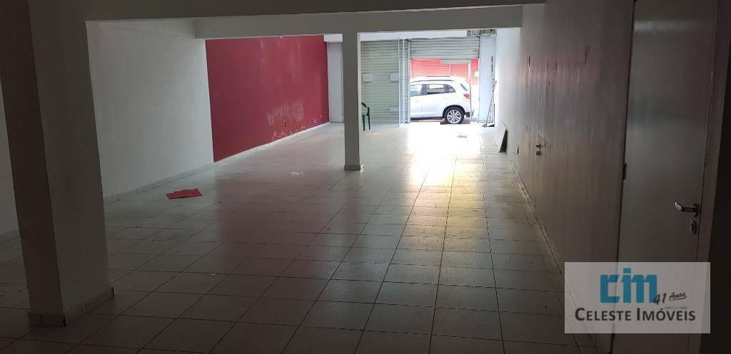 Salão para alugar, 180 m² por R$ 9.500,00/mês - Centro - Boituva/SP
