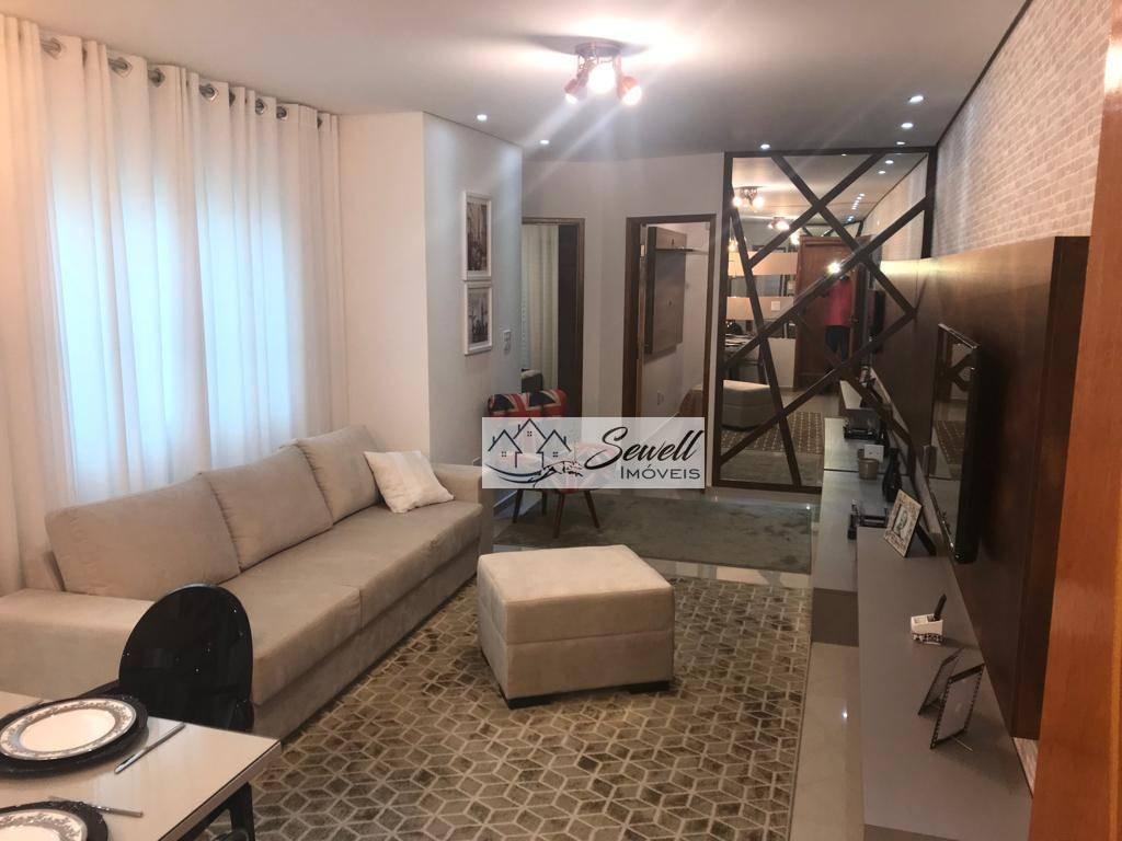 Apartamento sem condomínio decorado impecável na vila metalúrgica em Santo André
