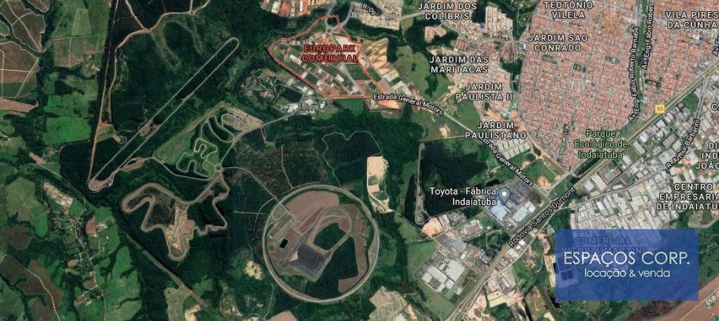 Terreno à venda, 1000m² por R$ 500.000 - Europark Comercial - Indaiatuba/SP