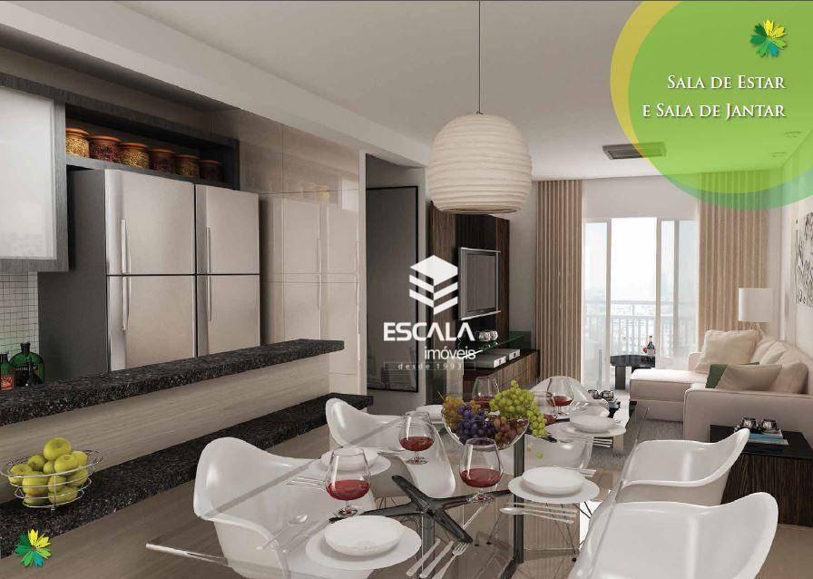 Apartamento com 3 quartos à venda, 96 m² , área de lazer, financia - Parangaba - Fortaleza/CE