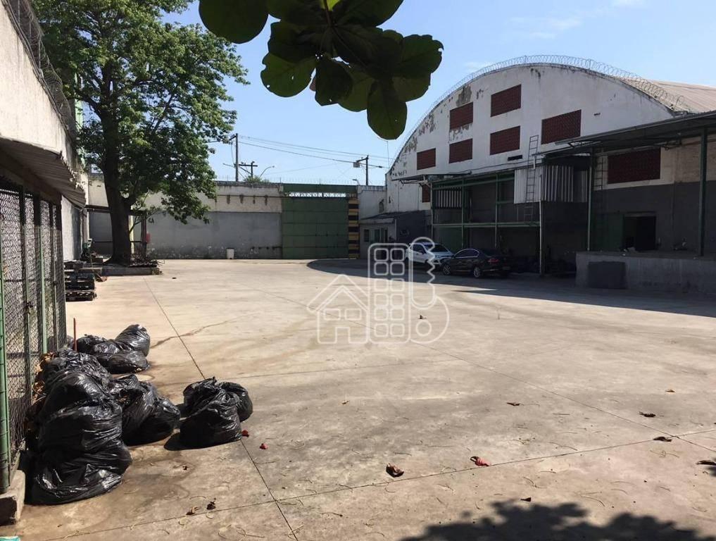 Galpão, 2200 m² - venda por R$ 1.500.000,00 ou aluguel por R$ 12.000,00/mês - Porto do Rosa - São Gonçalo/RJ