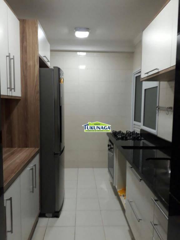Apartamento com 3 dormitórios para alugar, 90 m² - Centro - Guarulhos/SP