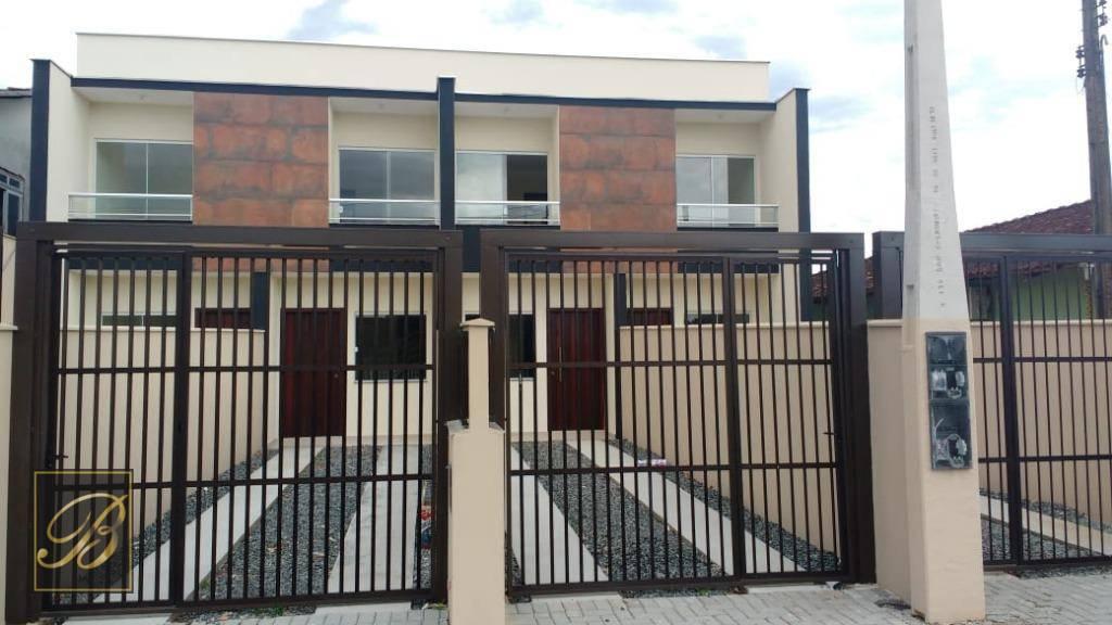 Sobrado com 2 dormitórios à venda, 68 m² por R$ 210.000 - Comasa - Joinville/SC