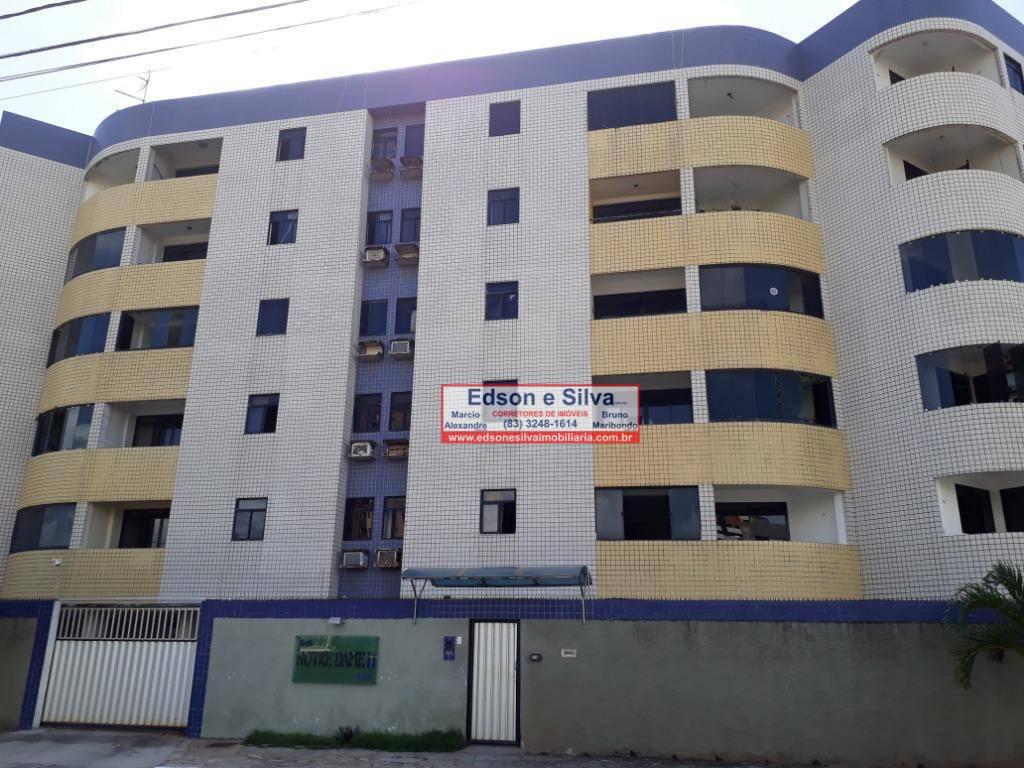 Apartamento com 2 dormitórios à venda, 60 m² por R$ 180.000 - Intermares - Cabedelo/PB