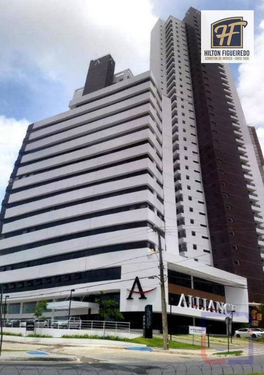 Sala para alugar, 30 m² por R$ 1.800/mês - Altiplano Cabo Branco - João Pessoa/PB