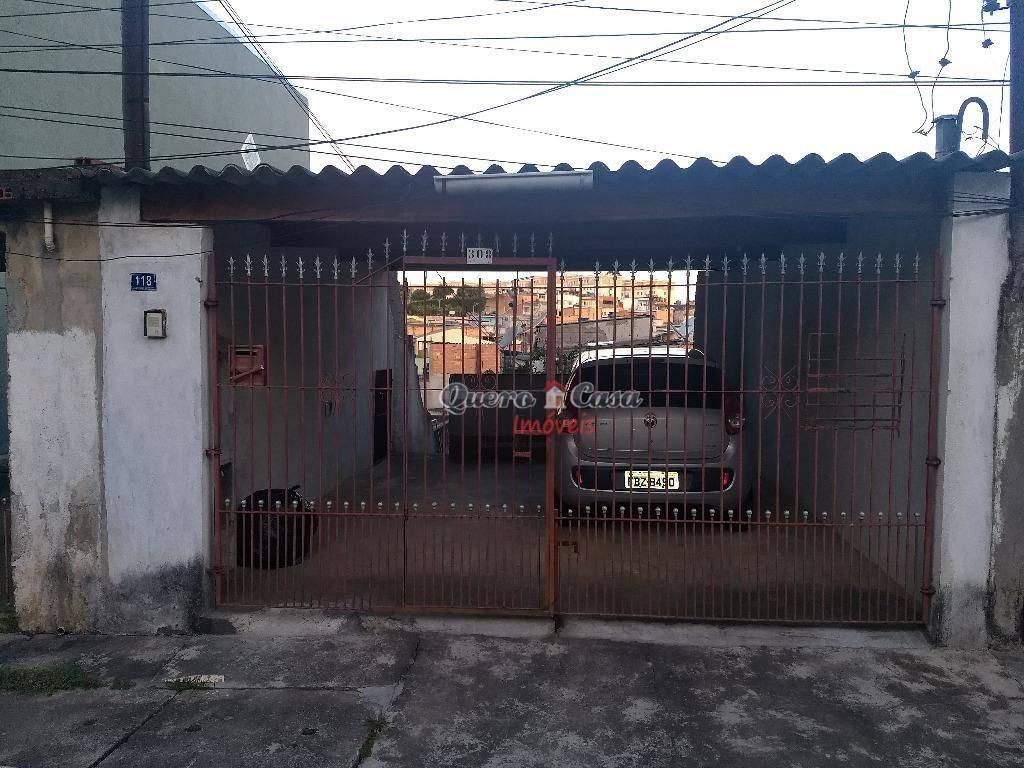 Casa com 1 dormitório para alugar, 60 m² por R$ 700/mês - Vi