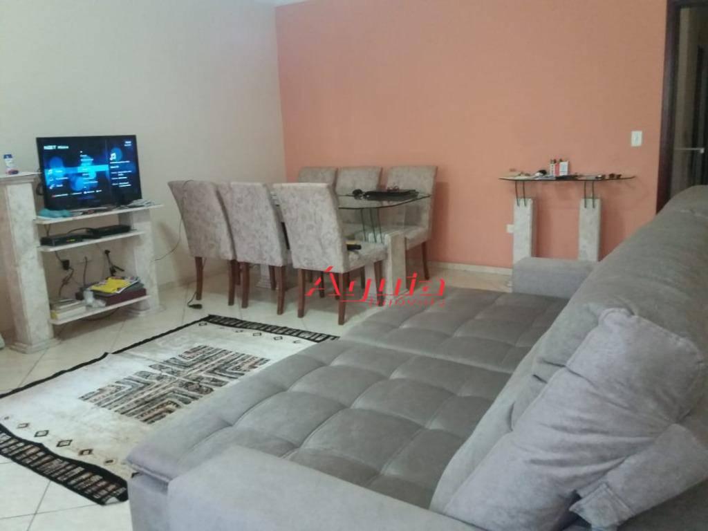 Sobrado com 3 dormitórios à venda, 260 m² por R$ 680.000 - Vila Curuçá - Santo André/SP