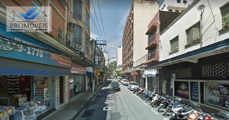Loja à venda, 240 m² por R$ 585.000 - Centro - Santos/SP