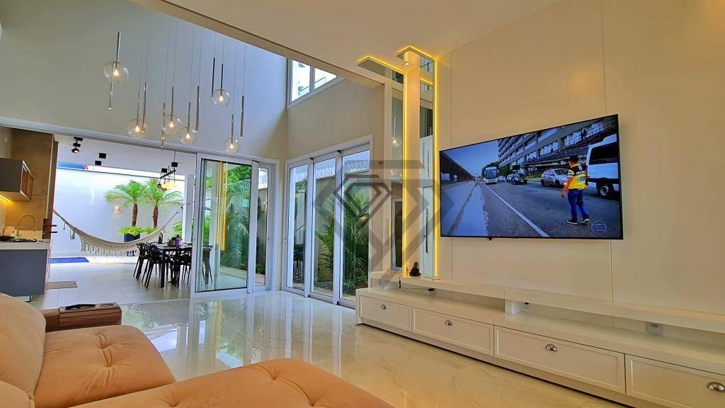 Sobrado 3 Suítes + Escritório, 373 m² à venda na 305 Sul - Alto Padrão