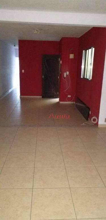 Sobrado com 3 dormitórios à venda, 398 m² por R$ 530.000,00 - Jardim Alzira Franco - Santo André/SP